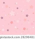 Vector seamless cherry blossom sakura pattern. 28296481
