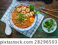 Thai style noodle, noodle tom yum kung 28296503
