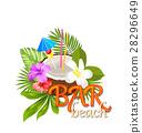 椰子 飲料 水果 28296649
