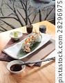 deep fried crab sushi roll 28296975