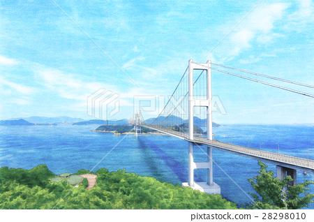 Kurushima Kaikyo Bridge 28298010