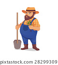 farmer, man, shovel 28299309