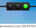 green, traffic, light 28299700