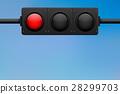 traffic, light, blue 28299703