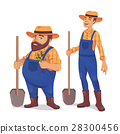 Farmer vector illustration 28300456