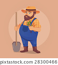 farmer, man, shovel 28300466