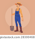 farmer, man, shovel 28300468