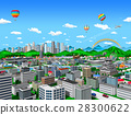 city, townscape, skyscraper 28300622
