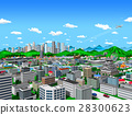 city, townscape, skyscraper 28300623