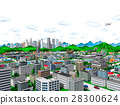 city, townscape, skyscraper 28300624