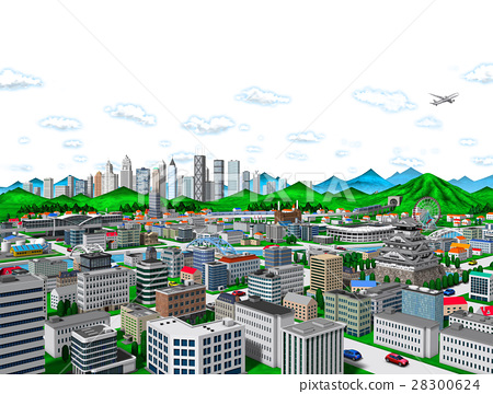 city, townscape, skyscraper 28300624