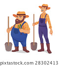 farmer, man, shovel 28302413