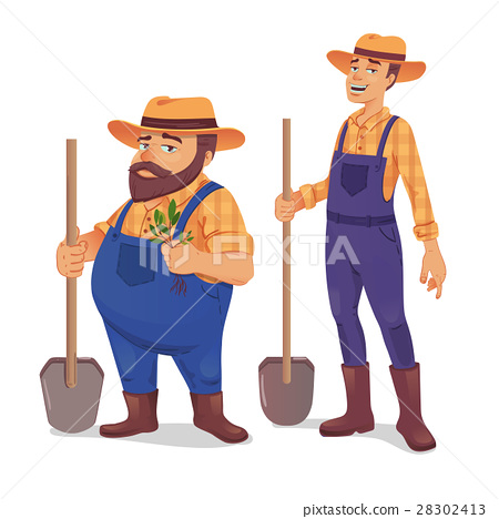 Farmer vector illustration 28302413