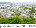Kurashiki city, old japanese town in Okayama 28304028