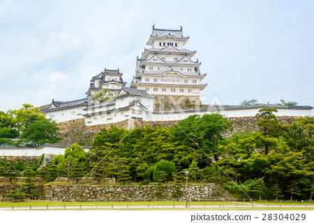 Main tower of the Himeji Castle in Japan 28304029