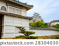 Main tower of the Himeji Castle in Japan 28304030