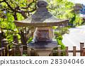 traditional temple lantern in Takayama Japan 28304046