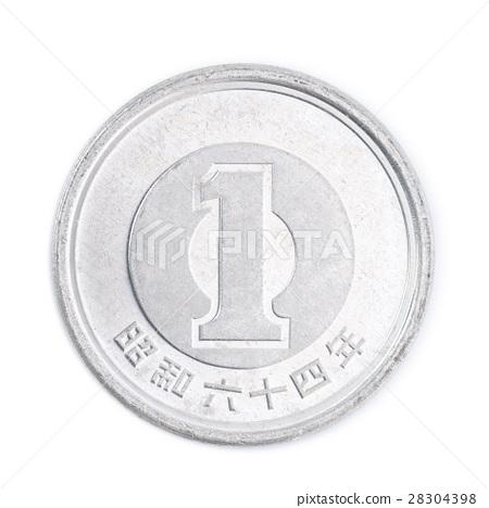 1 yen coin Japanese coin, Showa 64 28304398