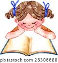 讀書的女孩 28306688