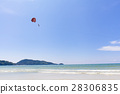 ชายหาดที่สามารถมองเห็นพาราเซล 28306835