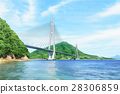 岛波海道 濑户内岛波海道 shimanami航线 28306859