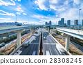 【東京】交通·物流形象 28308245