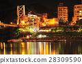 台湾 夜景 湖泊 28309590