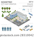 isometric, police, vector 28310042