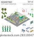 car vector building 28310047