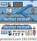火车 地铁 地下铁路 28310463