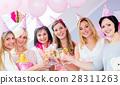 women baby shower 28311263