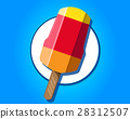 icecream, colorful, design 28312507