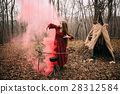 Witch in forest 28312584