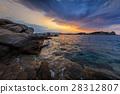 sunrise in Ammouliani Island, Greece 28312807