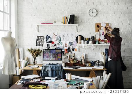 Creative Design Dress Fashion Trend Stylish Concept 28317486