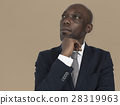 African Descent Man Thinking Concept 28319963