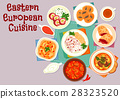 Eastern european cuisine icon for menu design 28323520