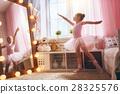girl dreams of becoming a ballerina 28325576