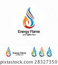 logo, vector, flame 28327350