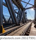 Modern railway bridge 28327991