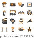 cinema movie icon 28330124