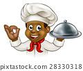 chef black cartoon 28330318