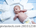 diapers, newborn, baby 28331238