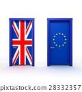 3d illustration of the door 28332357