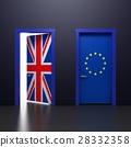 3d illustration of the door 28332358
