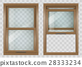 Wooden Sliding window 28333234
