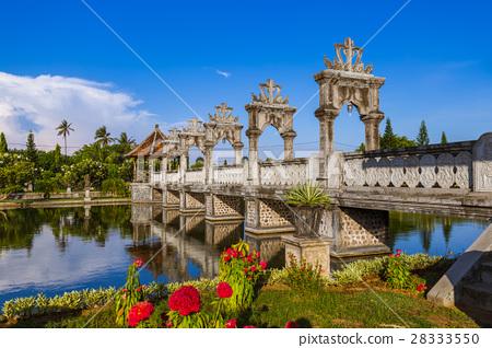 Water Palace Taman Ujung In Bali Island Indonesia Stock Photo
