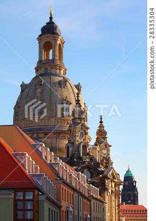 Dresden, Germany - The Dresdner Frauenkirche 28335304