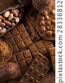 Bars Chocolate , candy sweet, dessert food  28336812
