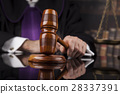 Court gavel,Law theme, mallet of Judge 28337391